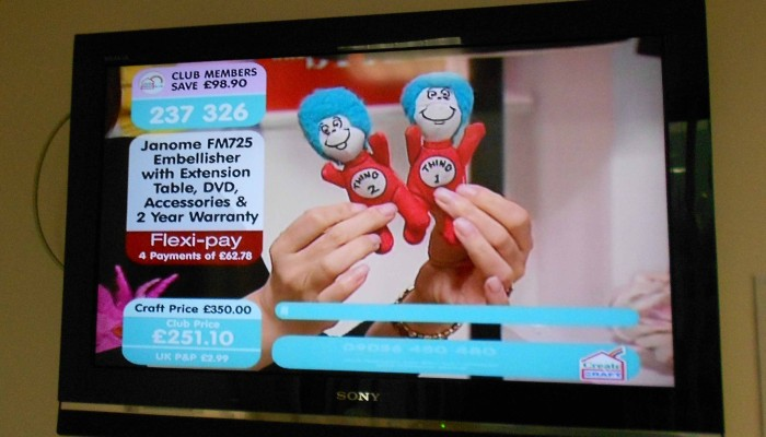 Thing 1 & Thing 2 Wreak Mayhem (on TV) in England