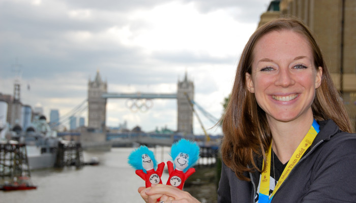 My Things Were at the London Olympics!