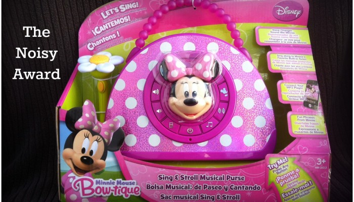 Worst Toys-Noisy Minnie Bowtique