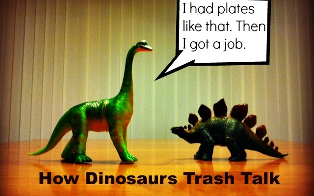 How Dinosaurs Trash Talk