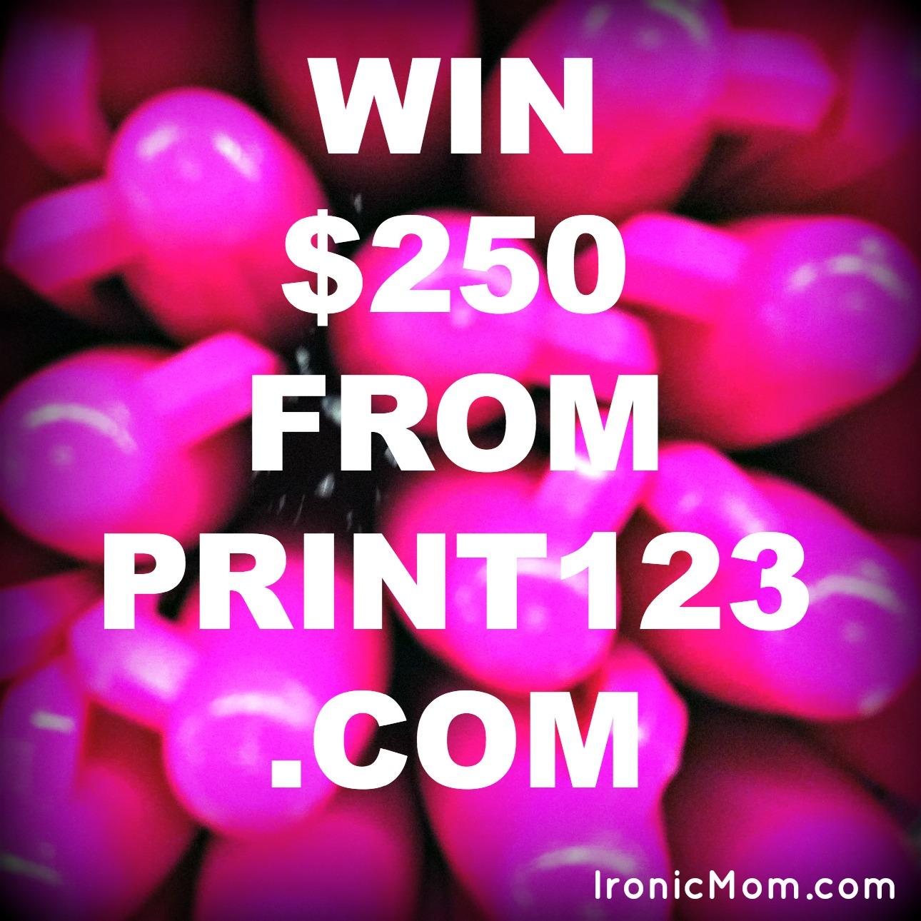 Print123 Giveaway