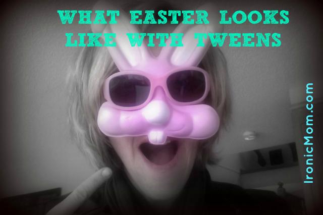 Easter Goofball Bunny Tweens Mom