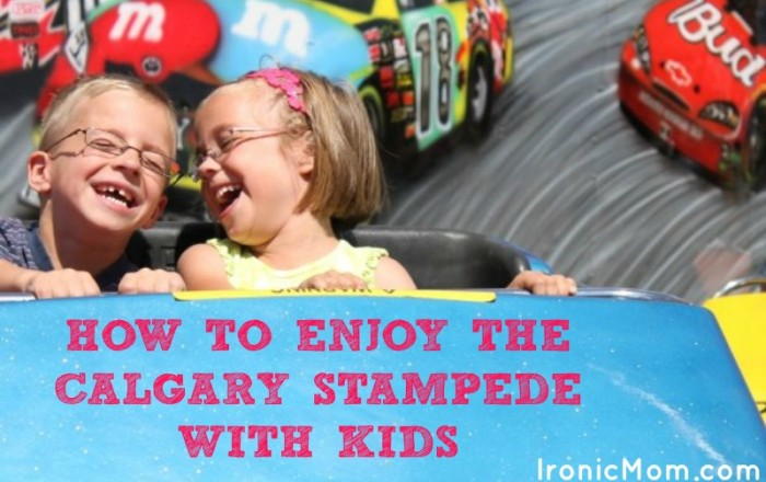 Surviving the Calgary Stampede with Kids